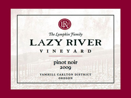 Lazy River Vineyard 2009 Pinot Noir