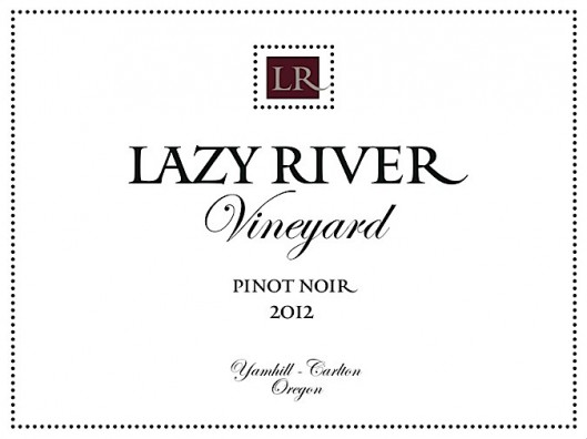 Lazy River Vineyard 2012 Pinot Noir