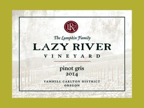 2014 Lazy River Pinot Gris